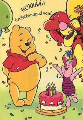micimackó boldog születésnapot Vecsés   Babanet.hu micimackó boldog születésnapot